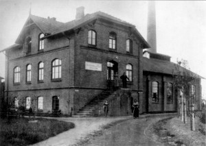 Alte Stadtwerke Wedel, heute das Theater Wedel, um 1920