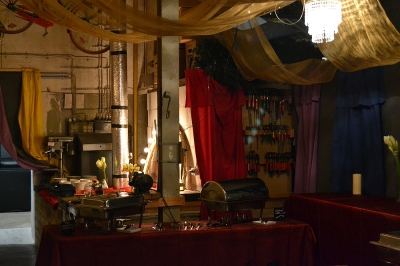 Silvester im Theater Wedel - Werkstatt