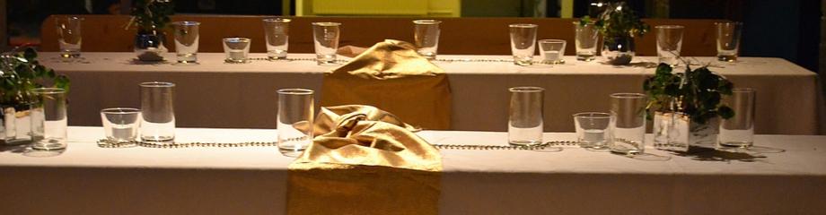 Silvester im Theater Wedel - Dekoration